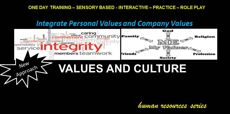 HR Series - Values and Culture