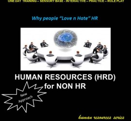 Human Resource (HRD) for Non HR