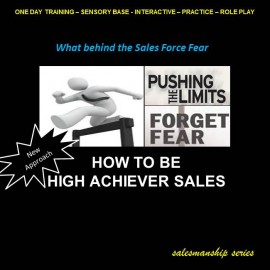 How to be High Achiever Sales
