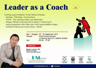 Leader as a Coach 1